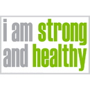 Inspired Minds ISM0024P I Am Strong Poster