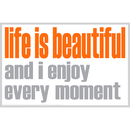 Inspired Minds ISM0028P Life Is Beautiful Poster