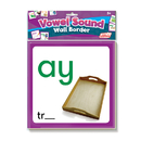 Junior Learning JRL464 Wall Borders Vowel Sounds