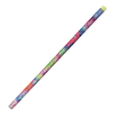 Pacon JRM2050B Decorated Pencils Tie Dye Glitz 1Dz Asst