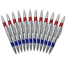Teachers Friend JRMP80 Swirl Desk Pens Red/Blue 12/Pk
