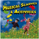 Kimbo Educational KIM9167CD Musical Scarves & Activities Cd Ages 3-8