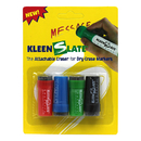 Kleenslate Concepts KLS0432 Attachable Erasers For Dry 4/Pk Erase Markers Carded