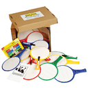 Kleenslate Concepts KLS2223 Kleenslate Round Classroom Kit Set 24 Paddles