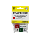 Koplow Games KOP11692 Fraction Dice Set Of 6