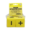Koplow Games KOP11696 Foam Dice 2 Operator Set Of 2