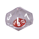 Koplow Games KOP11770 10 Sided Double Dice Single