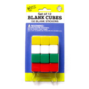 Koplow Games KOP17586 Blank Dice With Stickers Set Of 12 Dice With 150 Stickers