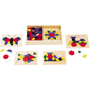 Melissa & Doug LCI29 Wooden Pattern Blocks & Boards