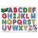 Melissa & Doug LCI3272 See-Inside Alphabet Peg Puzzle