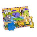 Melissa & Doug LCI3722 Safari Chunky Puzzle