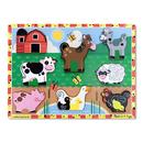 Melissa & Doug LCI3723 Farm Chunky Puzzle