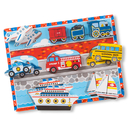 Melissa & Doug LCI3725 Vehicles Chunky Puzzle