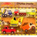 Melissa & Doug LCI3726 Construction Chunky Puzzle