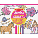 Melissa & Doug LCI4225BN (5 Ea) Jumbo Coloring Pad Pnk 11X14