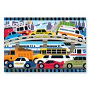 Melissa & Doug LCI4421 Traffic Jam Floor Puzzle