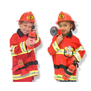Melissa & Doug LCI4834 Role Play Fire Chief Costume Set