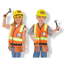 Melissa & Doug LCI4837 Role Play Construction Worker Costume Set