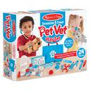 Melissa & Doug LCI8520 Examine And Treat Pet Vet Play St