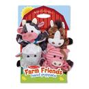 Melissa & Doug LCI9080 Farm Friends Hand Puppets