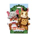 Melissa & Doug LCI9081 Zoo Friends Hand Puppets