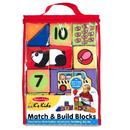 Melissa & Doug LCI9167 Match & Build Blocks