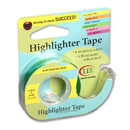 Lee Products LEE19976 Removable Highlighter Tape Fluorscent Green