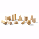 Learning Resources LER0120 Hardwood Geometric Solids 12-Pk