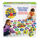 Learning Resources LER0383 Math Marks The Spot A Math Activity Mat