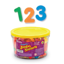 Learning Resources LER0452 Jumbo Magnetic Numbers 36/Pk - Operations 2-1/2 Bucket