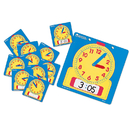 Learning Resources LER0572 Write-On/Wipe-Off Clocks 10/Pk Student 4-1/2 Square