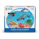 Learning Resources LER0696 Jumbo Ocean Animals
