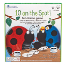 Learning Resources LER1764 10 On The Spot Ten Frame Game