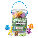 Learning Resources LER3361 Wild About Animals Jungle Counters