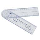 Learning Resources LER43054 Safe-T Angle/Linear Ruler