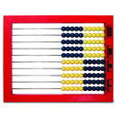 Learning Resources LER4335 2 Color Desktop Abacus