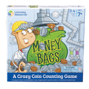 Learning Resources LER5057 Money Bags A Coin Value Game Gr 2+