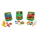 Learning Resources LER5340 Play Set Healthy Foods Set Of 55 Bundle