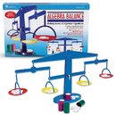 Learning Resources LER7545 Four-Pan Algebra Balance 4-Pk 4 - Plastic Pans Canisters Weights
