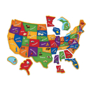 Learning Resources LER7714 Magnetic Us Map Puzzle