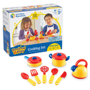 Learning Resources LER9155 Pretend & Play Cooking Set 10 Pcs