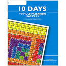 Learning Wrap-Ups LWU753 10 Days To Multiplication Mastery Student Workbook
