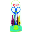 Maped USA MAP601005 Craft Scissors Case 5 Assorted Patterns