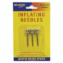 Dick Martin Sports MASN2 Inflating Needles 3-Pk On Blister Card