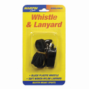Dick Martin Sports MASWL21 Whistle & Lanyard No P20 & Lanyard On Blister Card
