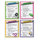 Mcdonald Publishing MC-P118 Four Types Of Writing Teaching Poster Set