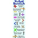 Mcdonald Publishing MC-V1617 Colossal Poster What Good Mathmaticians Do