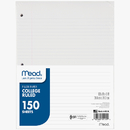 Mead Products MEA15111 Notebook Paper College Ruled 150Ct