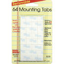 Miller Studio MIL3220 Magic Mounts Mounting Tabs 1/2X1/2 64Pk