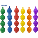 Miniland Educational MLE27361 Interlocking Pieces Assorted 24 Pcs Per Unit
